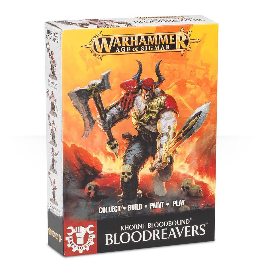 Easy to Build Khorne Bloodbound Bloodreavers
