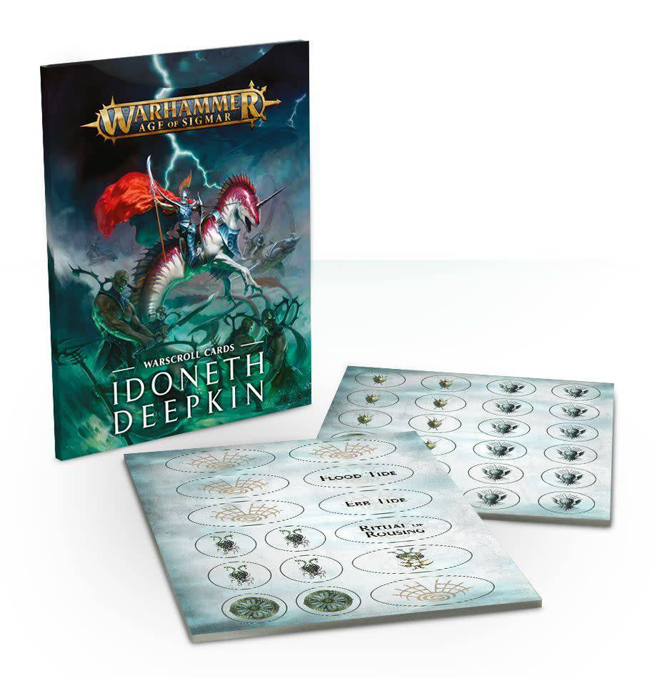 Idoneth Deepkin Warscroll Cards (French)