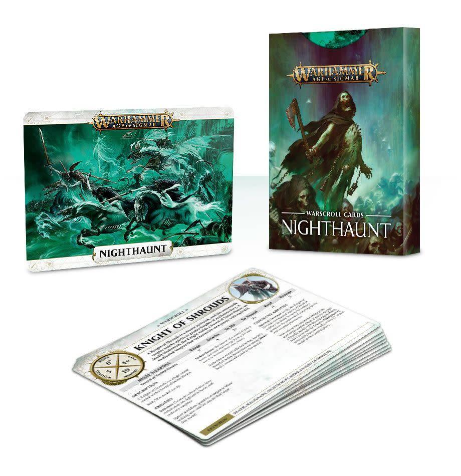 Warscroll Cards Nighthaunt EN