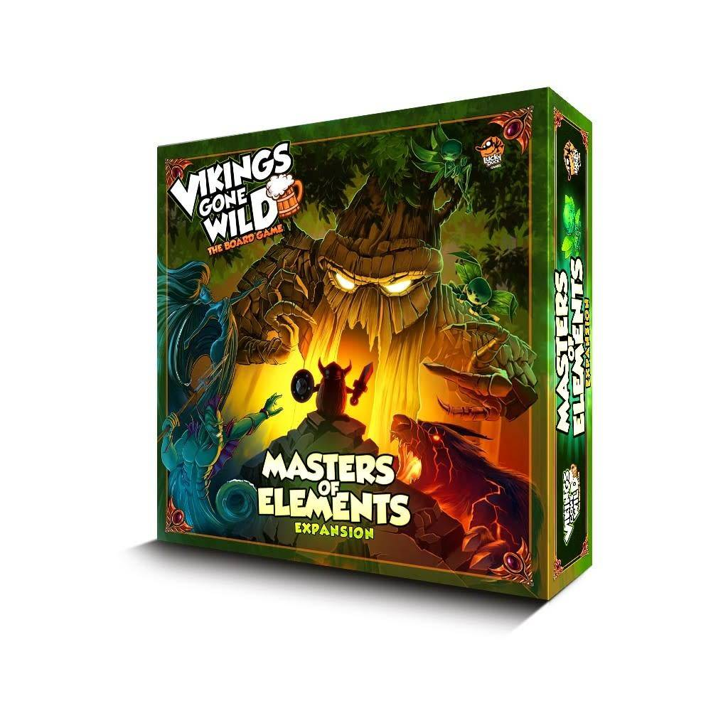 Vikings Gone Wild - Masters of the Elements Expansion