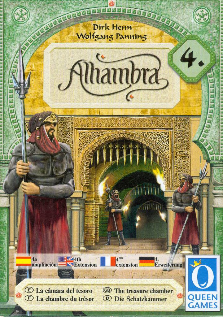Alhambra Treasure Chamber Expansion