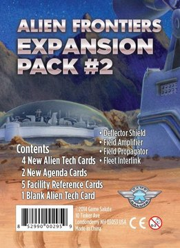 Alien Frontiers Exp. Pack #2