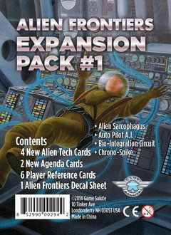 ALIEN FRONTIERS EXPANSION PACK #1