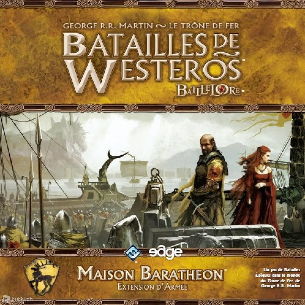 Batailles de Westeros: Maison Baratheon