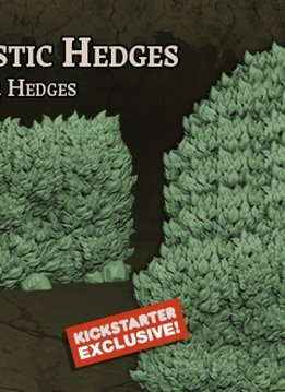 Black Plague: Green Horde KS Edition: 3D Plastic Hedges