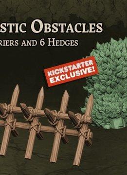 Black Plague: Green Horde KS Edition: 3D Plastic Obstacles