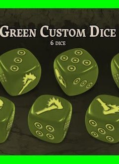 Black Plague: Green Horde KS Edition: Green Custom Dice