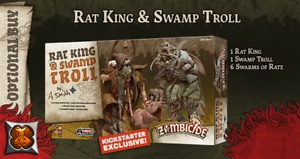 Black Plague: Green Horde KS Edition: Rat King & Swamp Troll