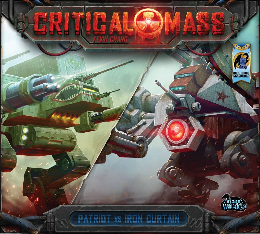 Critical Mass - Patriot vs Iron Curtain