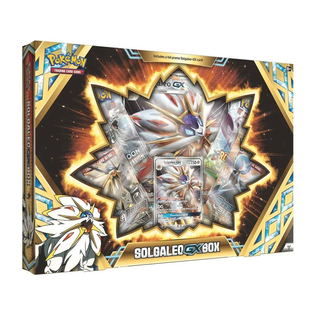 Pokemon Solgaleo-GX Box