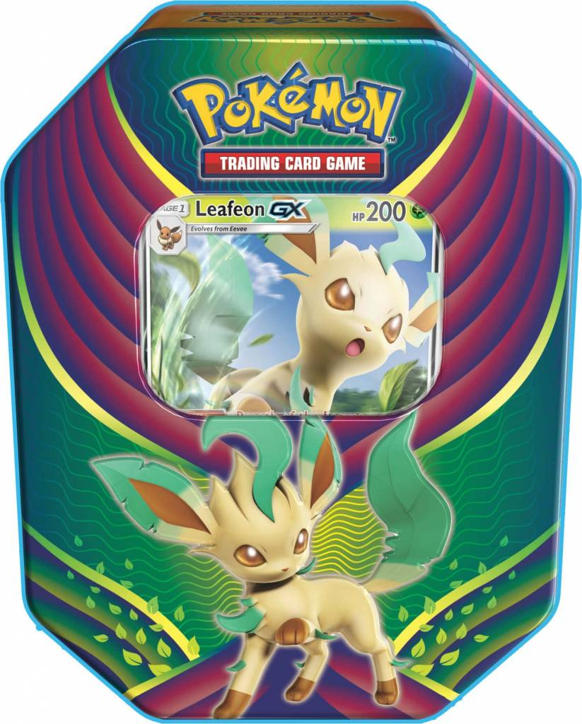 Evolution Celebration Tin - Leafeon