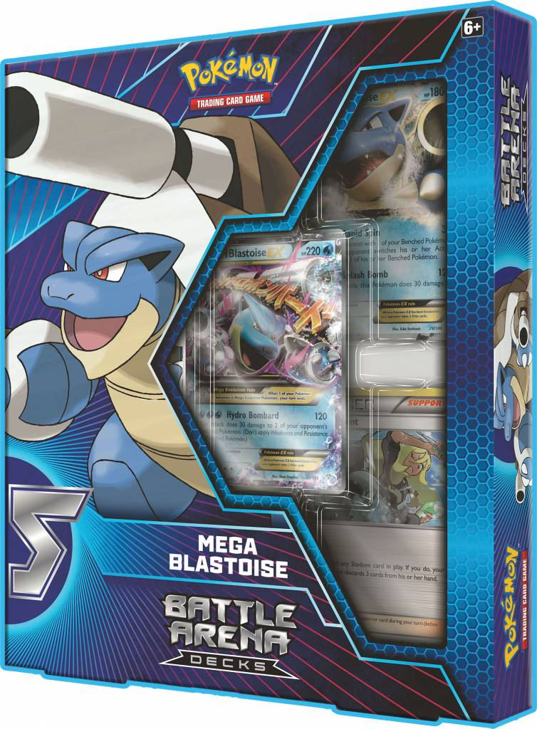 Pokemon Battle Arena Deck - Blastoise