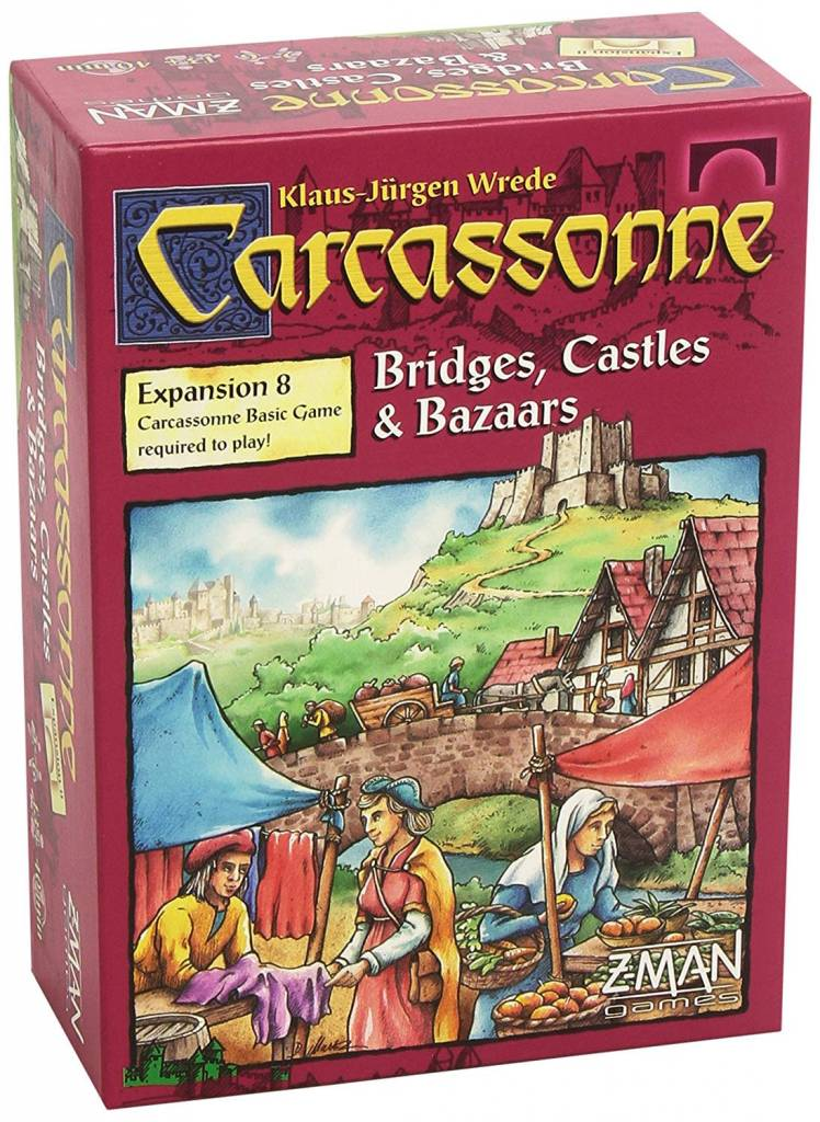 Carcassonne - Bridges, Castles & Bazaars Expansion
