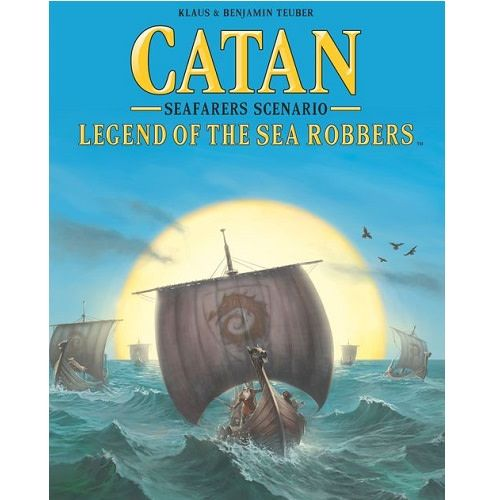 Catan : Legend Of The Sea Robbers (Scenario)