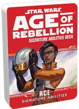 Star Wars RPG: Age of Rebellion - Ace Signature Abilities Specialization Deck