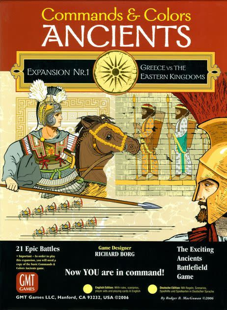 Command and colors ancients expansion