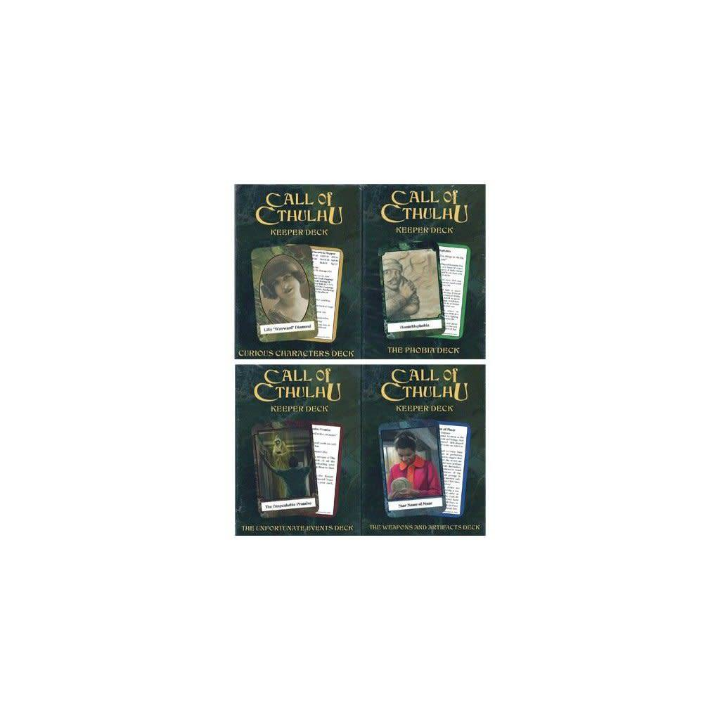 Call of Cthulhu - Keeper Decks