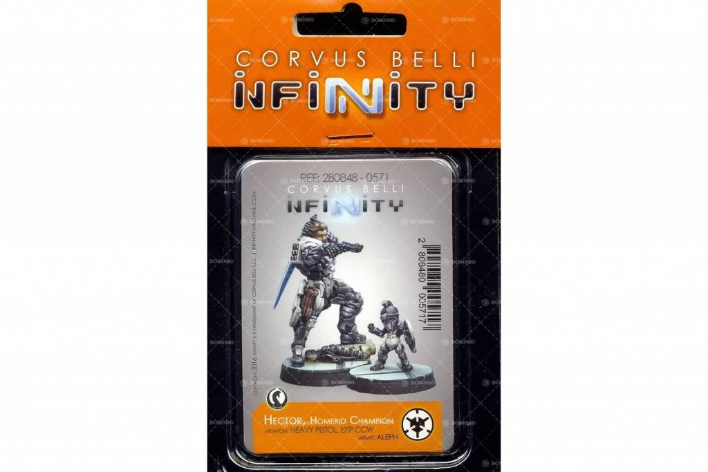 Infinity: ALEPH Hector Homerid Champion