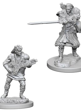 DND Unpainted Minis: Human Male Bard