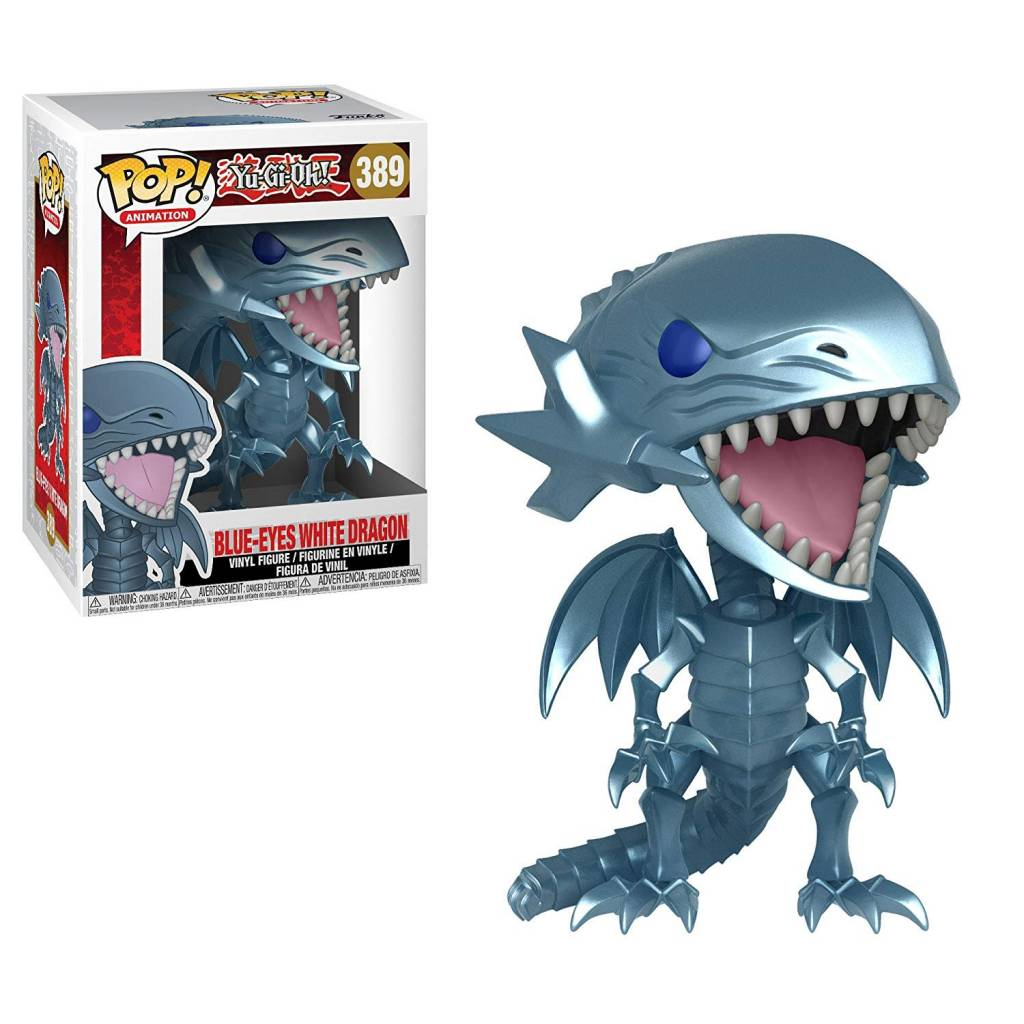 Pop! YuGiOh Blue Eyes White Dragon