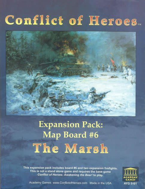 Conflict of Heroes: The Marsh exp