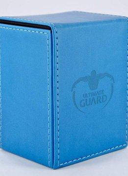 Flip Deck Case leather Bleu 80