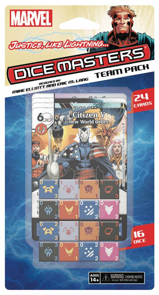 Dice master : Justice Like Lightning Team Pack