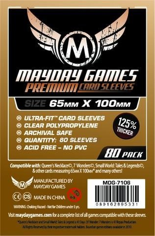 Premium Card Sleeves (80) 65x100mm