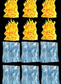 D&D Spell Effects - Wall of Fire and Wall of Ice