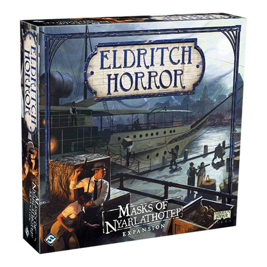 Eldritch Horror : Masks of Nyarlathotep