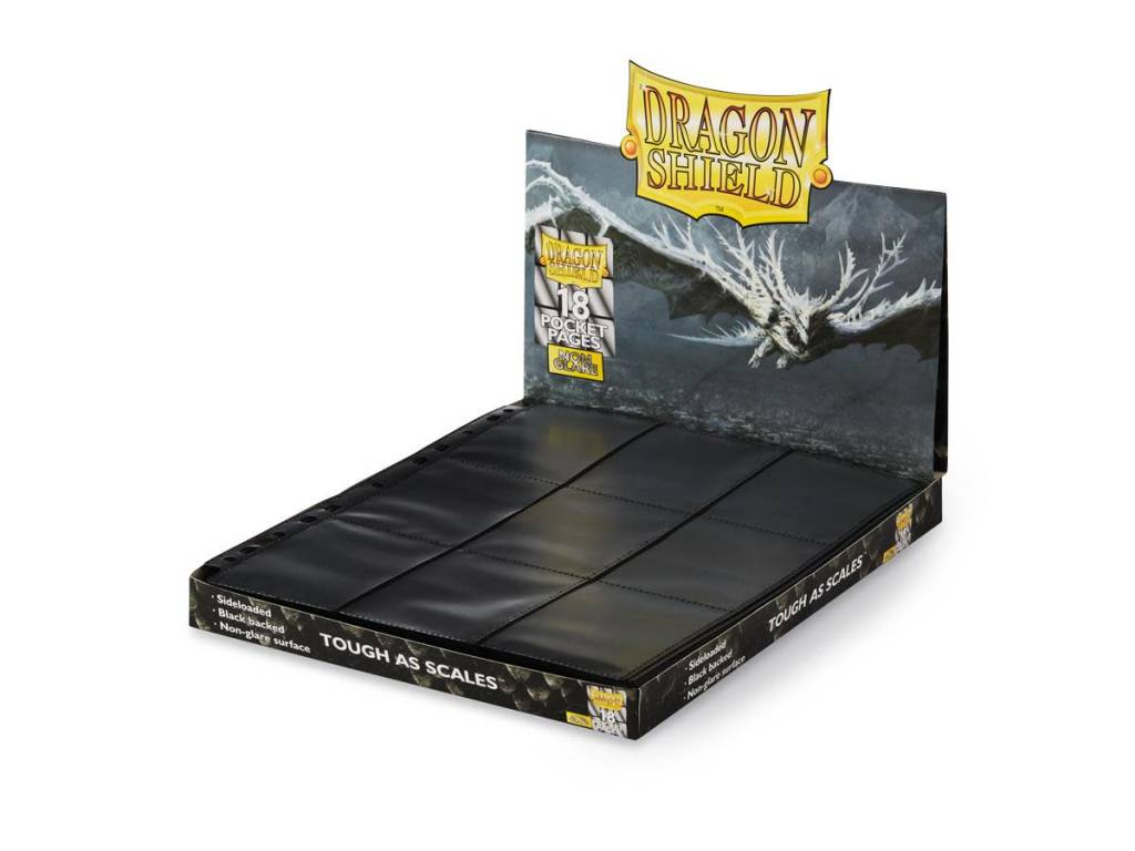 Pages: Dragon Shield 18 Pocket Side Loader Non-Glare (50)
