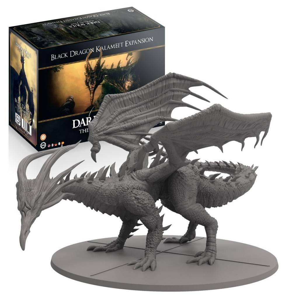 Dark Souls: The Board Games: Wave 2 : Black Dragon Kalameet