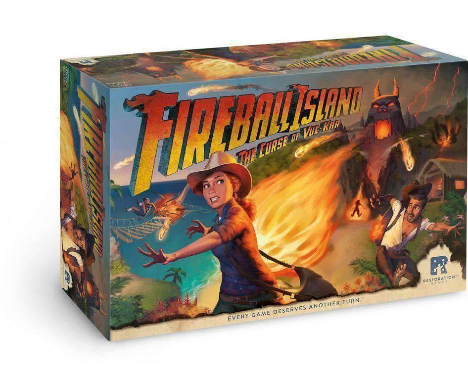 Fireball Island The Curse of Vul-Kar Full Pledge KS Edition