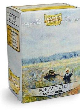 Dragon Shield Art - Poppy Field
