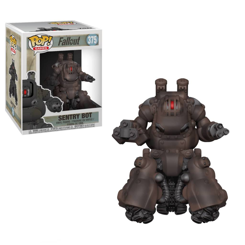 Pop! Fallout Sentry Bot 6""