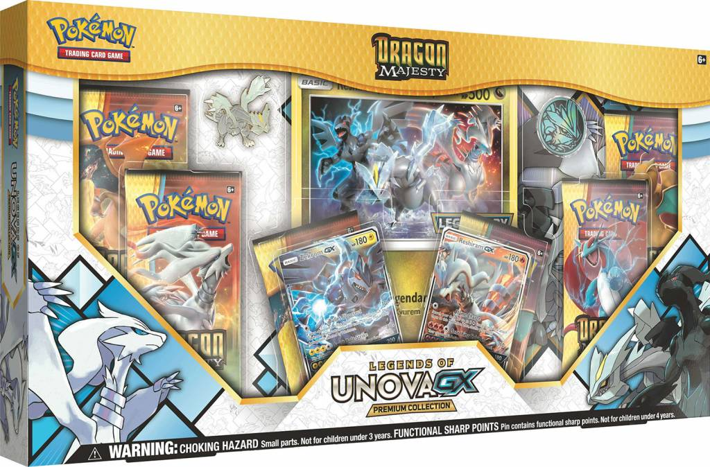Pokemon GX Legends of Unova Dragon Majesty