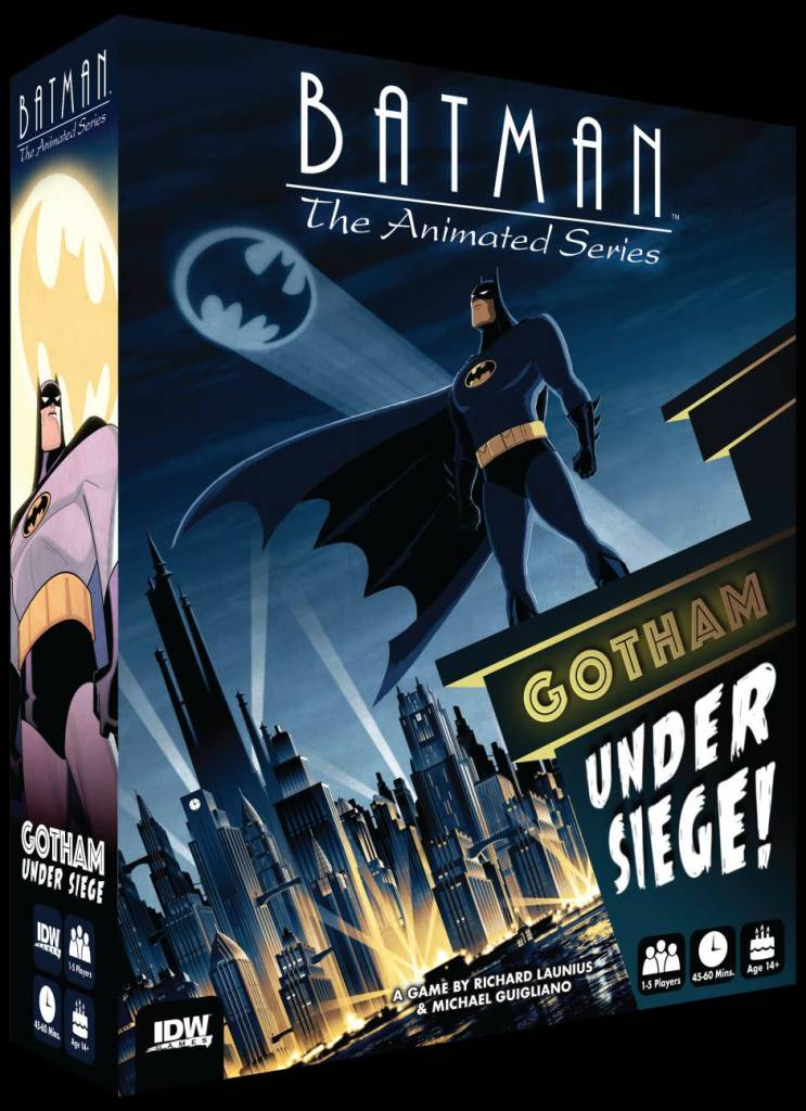 Batman the Animated Series - Gotham Under Siege
