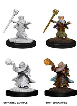 D&D Unpainted Minis - Male Gnome Wizard