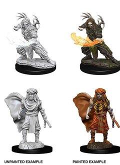 Unpainted Miniatures - Human Male Druid 2