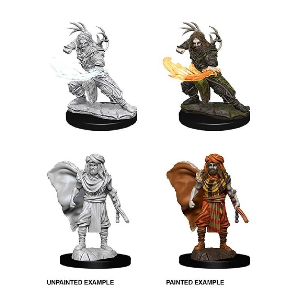 Unpainted Miniatures - Human Male Druid 2
