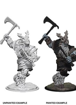 D&D Unpainted Miniatures - Frost Giant Male