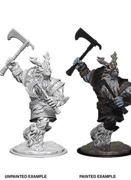 D&D Unpainted Miniatures - Frost Giant Male