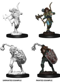 PF Unpainted Minis: Elf Male Fighter Wave 6