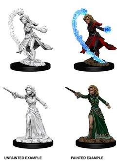 PF Unpainted Minis - Female Human Wizard