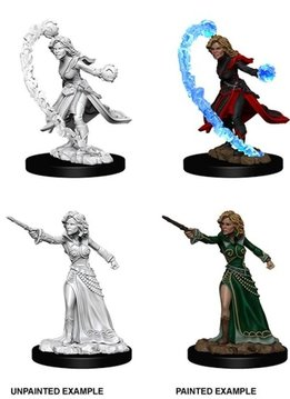 PF Unpainted Minis - Female Human Wizard