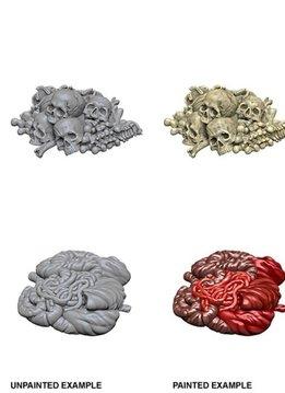 Unpainted Minis - Pile of Bones and Entrails