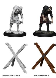 Unpainted Minis - Assistant and Torture Cross