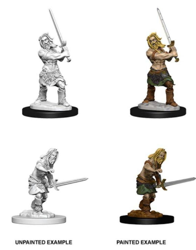 PF Unpainted Minis: Human Male Barbarian