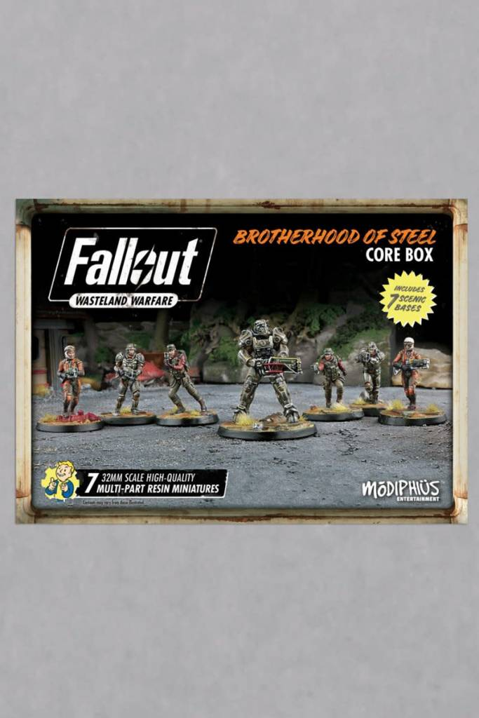 Fallout Wasteland Warfare - Brotherhood of Steel Faction Set