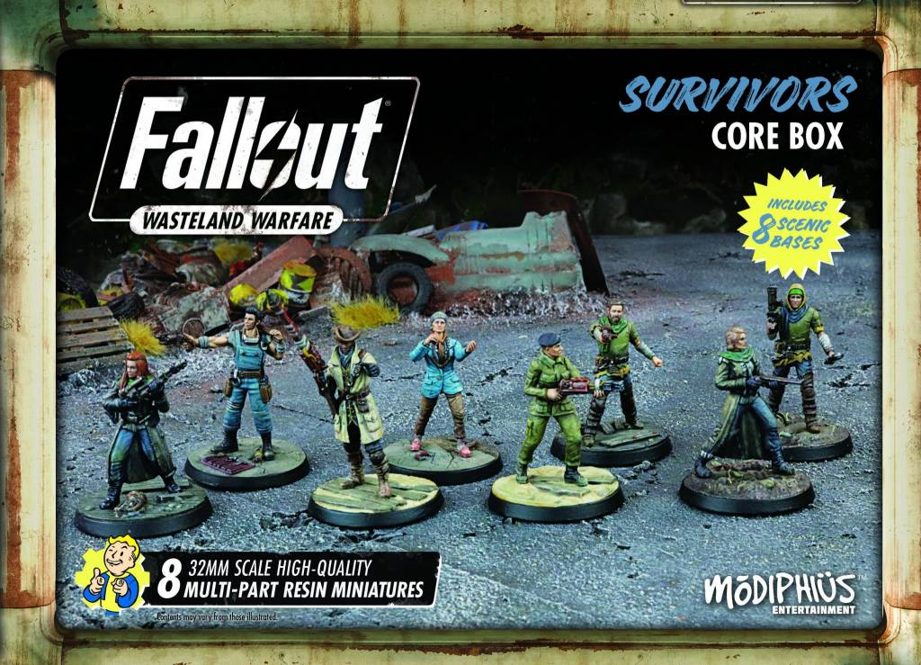 Fallout Wasteland Warfare - Survivors Faction Set